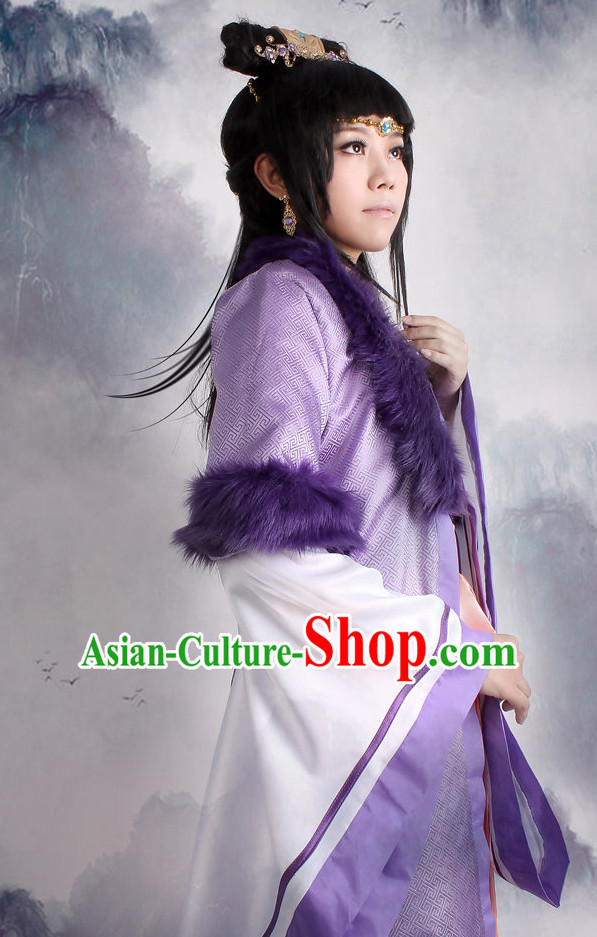 Asia Fashion Top Chinese Princess Cosplay Halloween Costumes Complete Set
