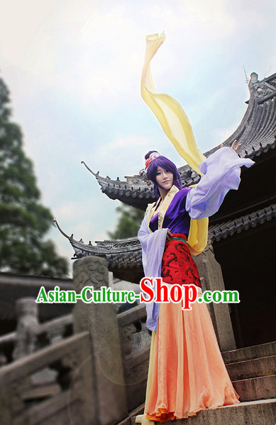 Top Asian Chinese Fairy Sexy Halloween Costumes for Women