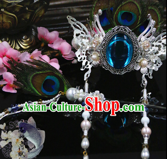 Chinese Traditional Handmade Prince Hair Accessories Coronet
