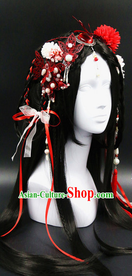 Chinese Ancient Princess Hair Accessories Headwear Set
