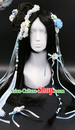 Chinese Ancient Princess Hair Accessories Headpieces Set