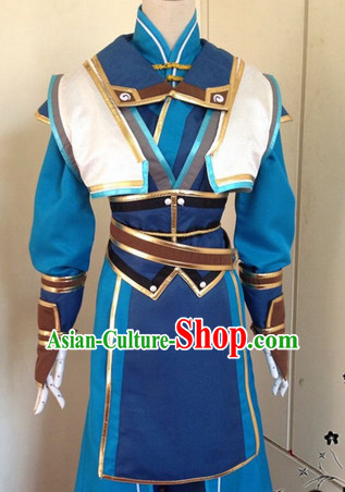 Chinese Ancient Swordmen Costumes Complete Set