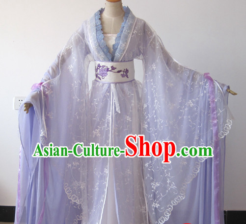 Chinese Ancient Empress Hanfu Outfit for Women with Long Tail