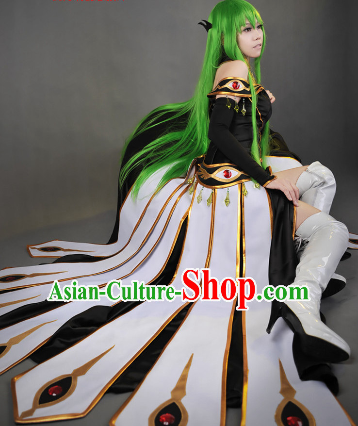Asia Fashion Chinese Fairy Peacock Cosplay Costumes Halloween Costumes for Women