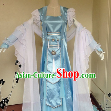 Chinese Classical Fairy Dance Costume Complete Set for Women