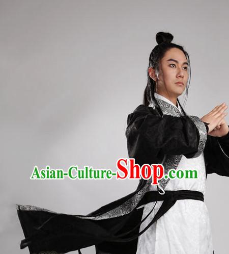 Chinese Ancient Han Garment Complete Set for Men