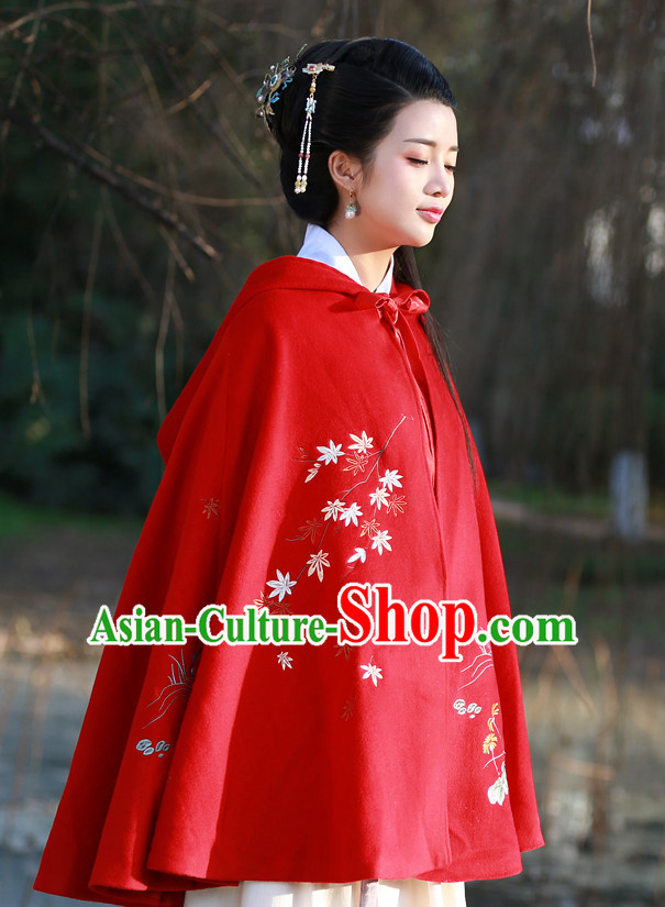 Chinese Ancient Mantle Cape for Women
