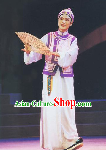 Asian Chinese Traditional Dress Theatrical Costumes Ancient Chinese Clothing Landlord Costumes and Hat