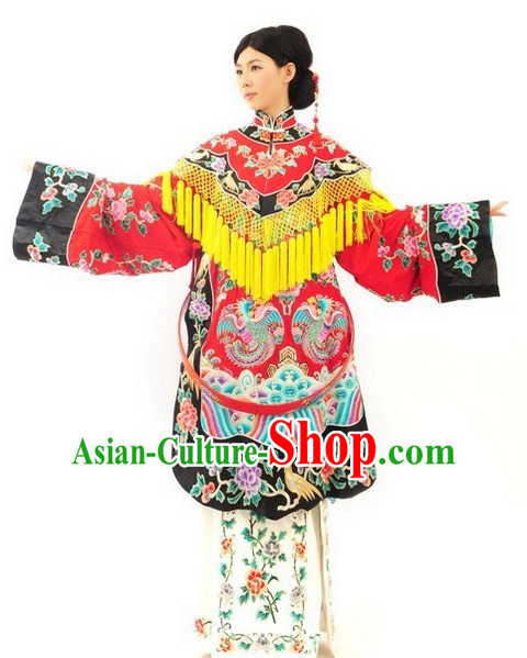Traditional Ancient Chinese Beijing Opera Phoneix Gowns Clothes Costumes
