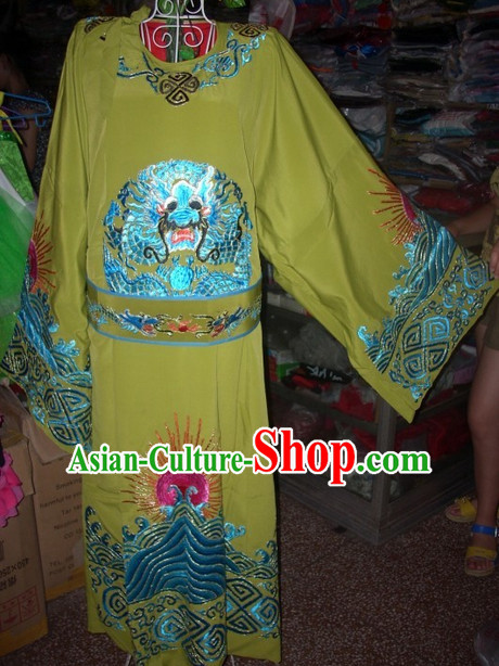 Traditional Ancient Chinese Beijing Opera Dragon Gowns for Men