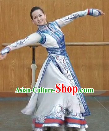 China Traditional Mongolian Dancewear for Women