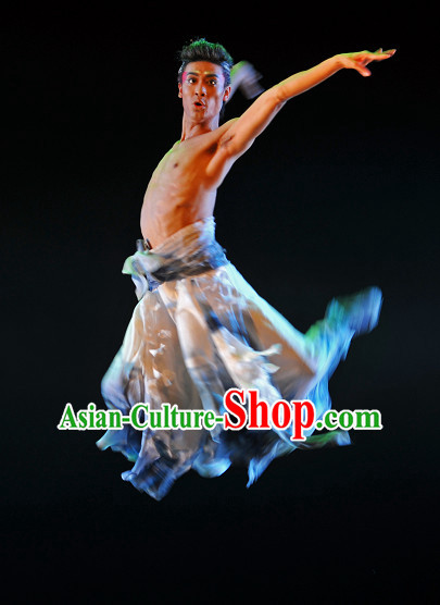 Asia Fashion Chinese Classical Dance Costumes Dance Apparel for Men