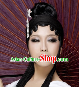 Ancient Chinese Black Fairy Wigs