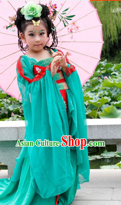 Chinese Traditional Princess Costumes for Kids