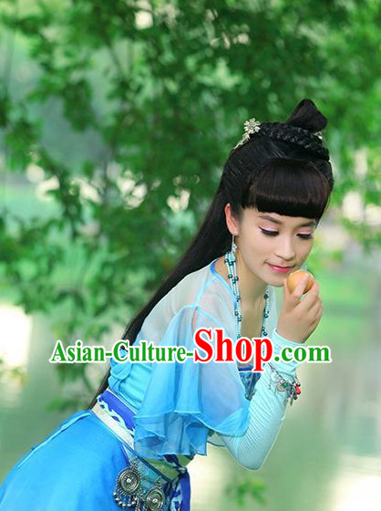 Chinese Ancient Swordwoman Outfits and Hair Accessories for Women