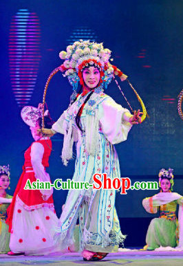 Traditional Chinese Peking Opera Costumes for Hua Tan