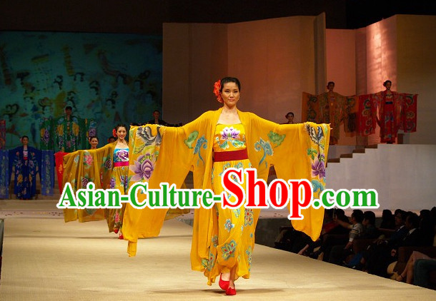 Ancient Chinese Empress Attire and Garment Complete Set for Women
