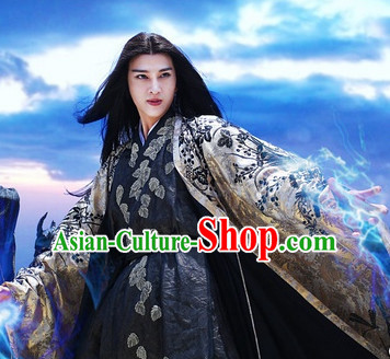 Chinese Hanfu Asian Fashion Japanese Fashion Plus Size Dresses Vntage Dresses Traditional Clothing Asian Costumes Sha Qian Mo for Men