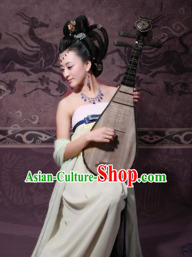 Chinese Hanfu Asian Fashion Japanese Fashion Plus Size Dresses Vntage Dresses Traditional Clothing Asian Female Musician Costumes