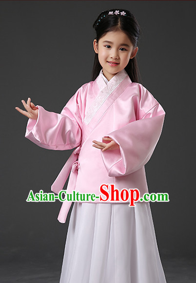 Chinese Hanfu Asian Fashion Japanese Fashion Plus Size Dresses Traditional Clothing Asian Ming Dynasty Hanfu Clothes for Kids