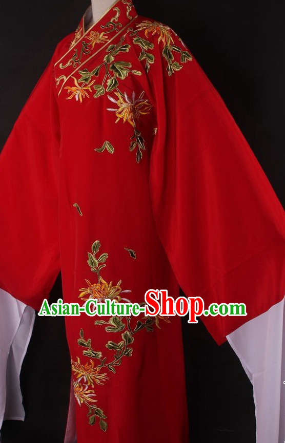 Traditional Chinese Dress Young Scholar Ancient Chinese Clothing Theatrical Costumes Chinese Opera Costumes Cultural Costume for Men