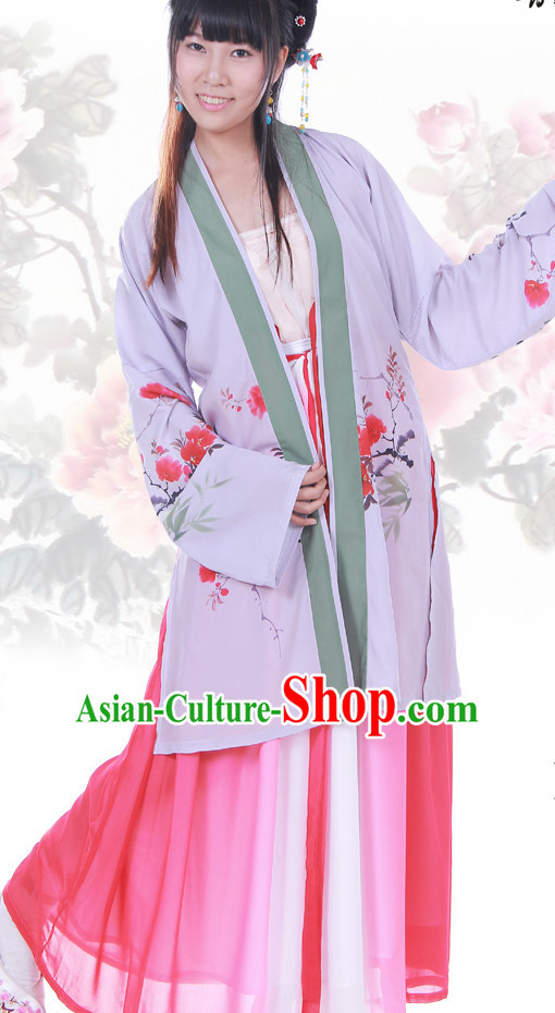 Ancient Chinese Hanfu Dresses Complete Set for Women