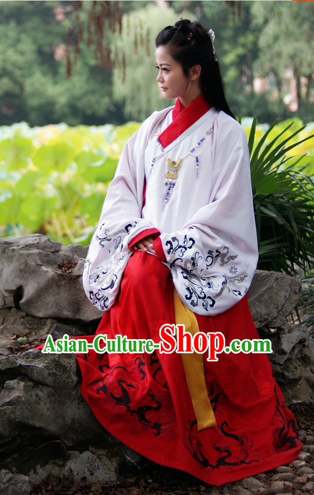 Ancient Chinese Female Suit Complete Set