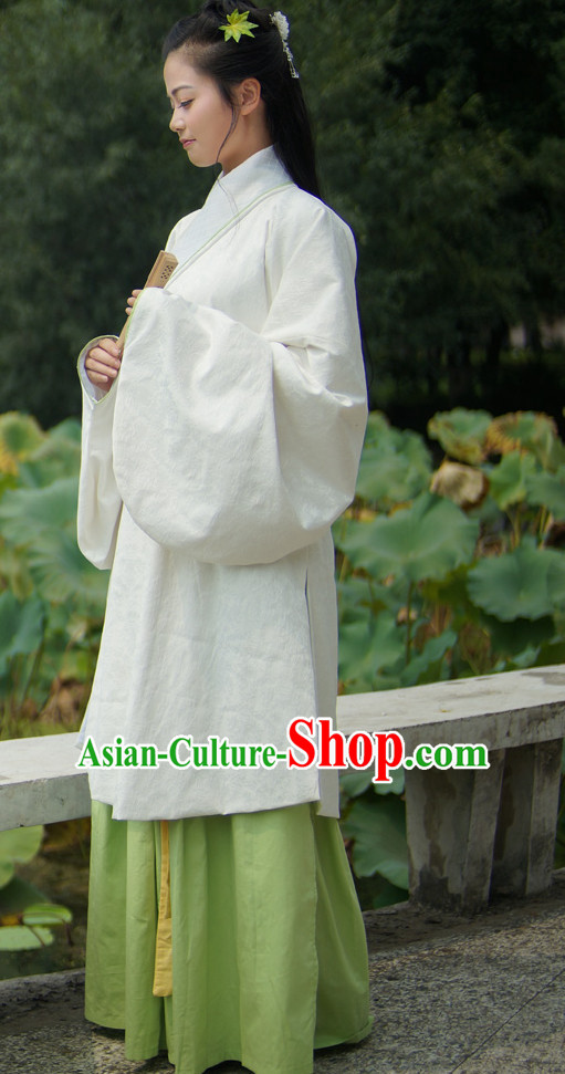 Ancient Chinese Female Han Fu Guzhuang Suit Complete Set