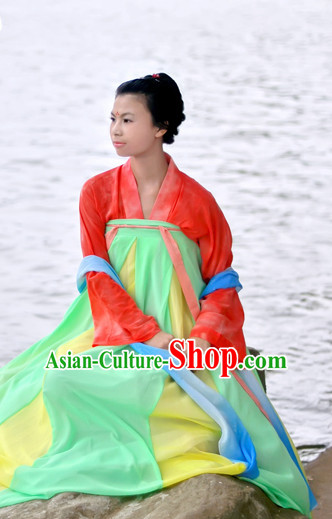 China Ancient Ruqun Cultural Garment Clothes for Women