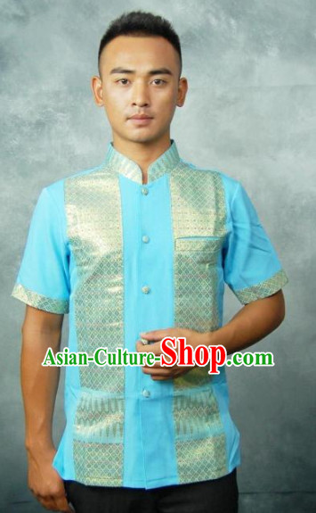 Traditional Thailand Male Shirts