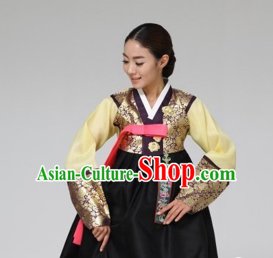Top Korean Traditional Apparel Dresses Asia Clothes for Women