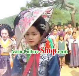 Ancient Korean Geisha Hat for Women