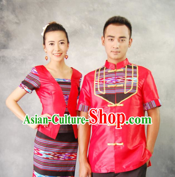 Thailand Classic Dress Plus Size Clothing Dresses Wedding Guest Dresses for Men and Women