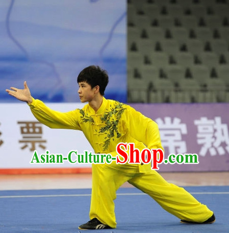 Chinese Top Martial Arts Tournament Uniform for Men