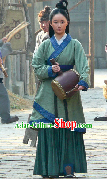 Chinese Classic Hanfu Outfit for Women