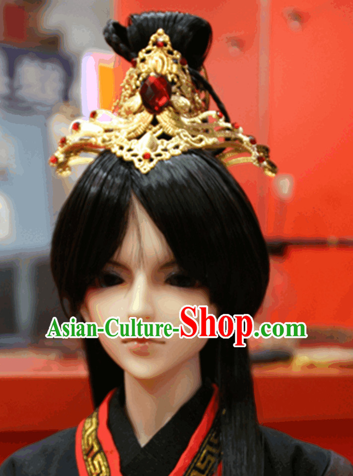 Asian Male Hair Jewelry
