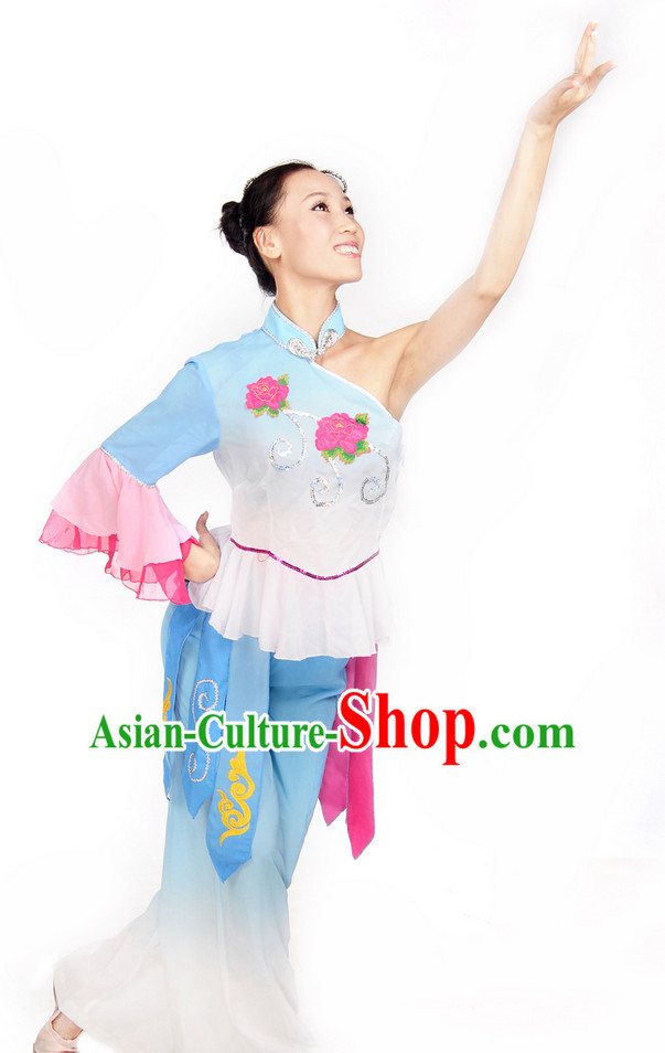 Classic 80s Costumes Fan Dance Costume for Girls