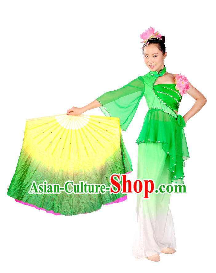 80s Dance Costumes Fan Dance Costume for Girls