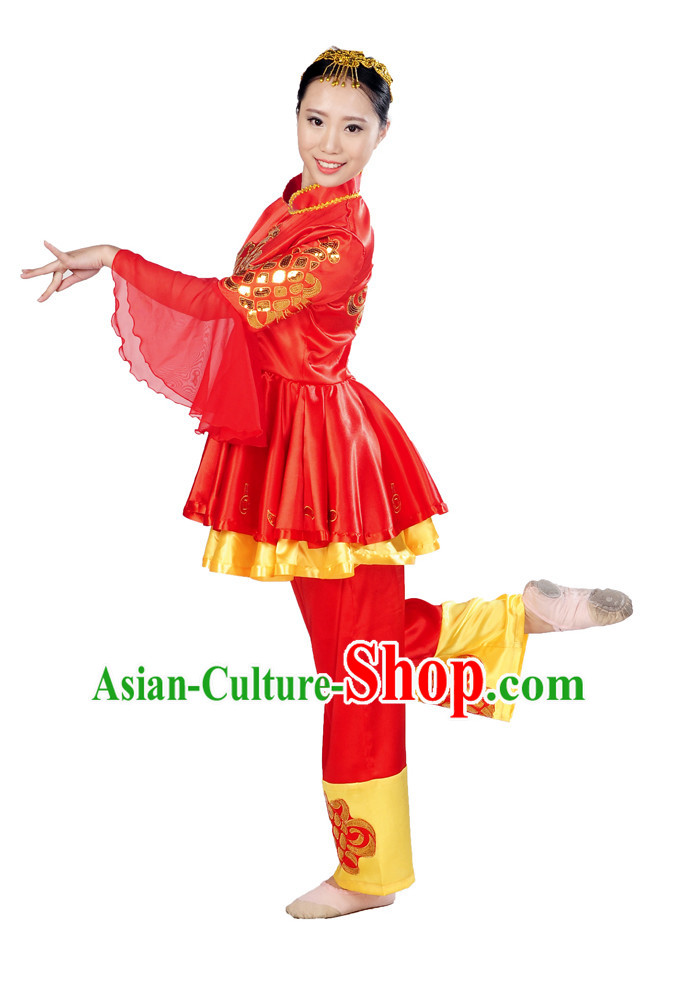 Chinese New Year Group Dance Costume