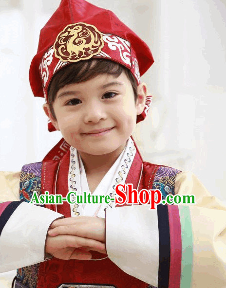 Korean Traditional Boys Hat