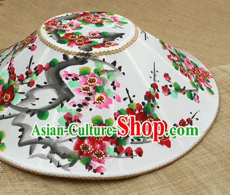 Ancient Korean Handmade and Painted Hat for Women