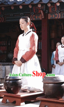 Ancient Korea Palace Cook Costume