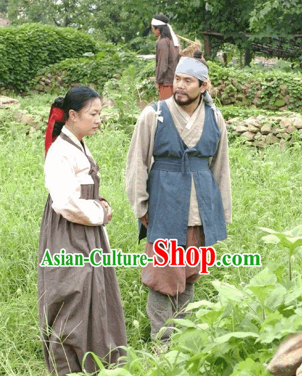 Ancient Korean Civilian Costume for Men