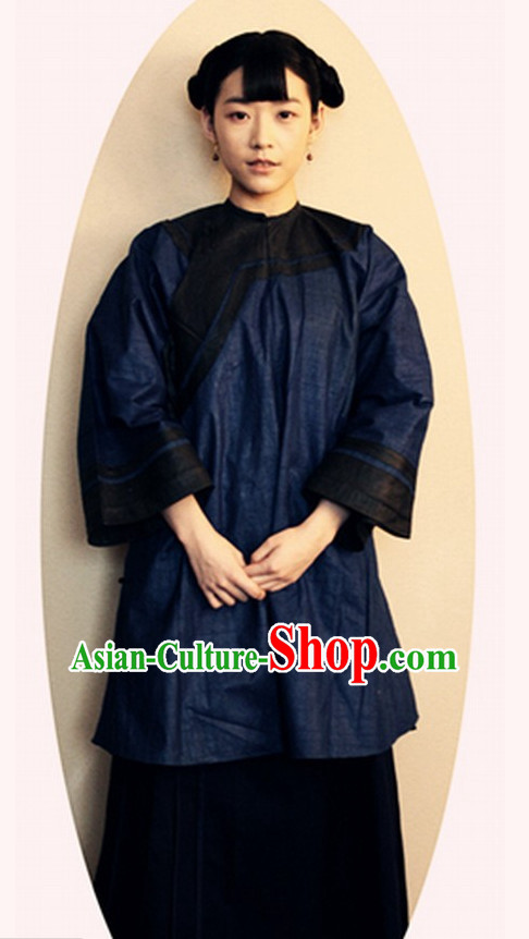 Chinese Mandarin Style Clothing and Pants