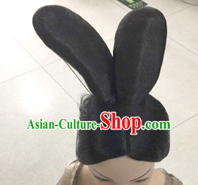 Chinese Rabbit Ears Style Hair extensions Wigs Fascinators Toupee Hair Pieces Long Wigs for Women