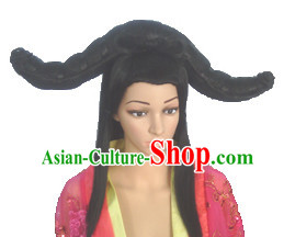 Chinese Classic Lady Hair extensions Wigs Fascinators Toupee Long Wigs Hair Pieces