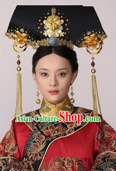 Manchu Queen Head Pieces Set.