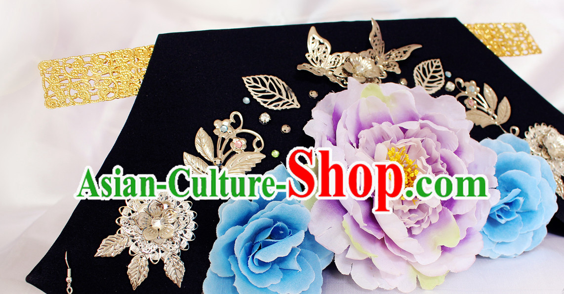 Chinese Qing Classic Palace Head Accessories
