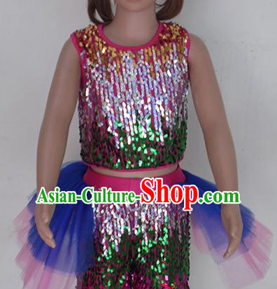 Fish Dancing Chinese Teenagers Classical Dance Costume for Competition