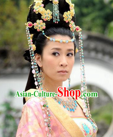 Chinese Handmade Empress Flower Hair Accessories Headband Headbands Fascinators Wedding Hair Clips